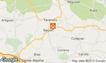 Mapa Barjols Apartamentos 96501