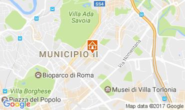 Mapa Roma Apartamentos 109687