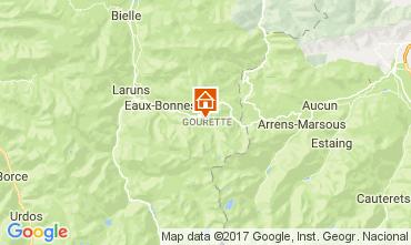 Mapa Gourette Apartamentos 68545
