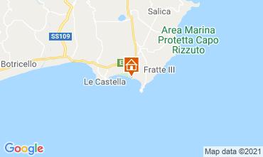 Mapa Isola di Capo Rizzuto Apartamentos 79202