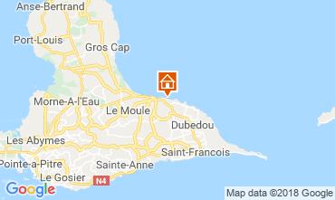 Mapa Le Moule Apartamentos 117382
