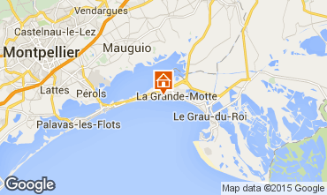 Mapa La Grande Motte Apartamentos 6039
