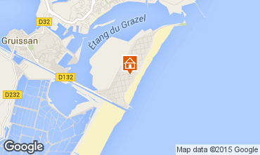 Mapa Gruissan-Plage Apartamentos 72902