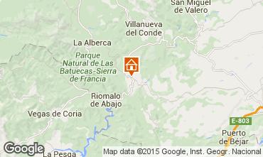 Mapa Salamanca Casa de turismo rural/Casa de campo 99734