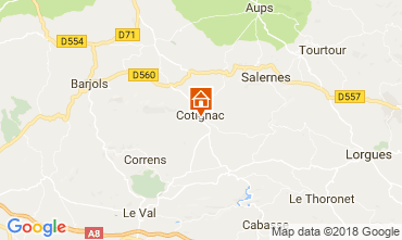 Mapa Cotignac Casa 113630