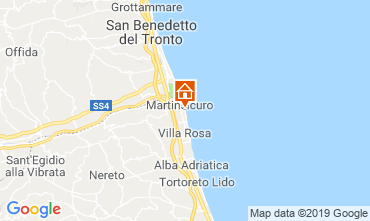 Mapa Martinsicuro Apartamentos 95694