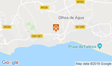 Mapa Albufeira Apartamentos 116318
