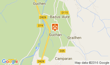 Mapa Saint Lary Soulan Apartamentos 51814