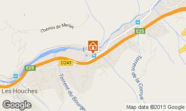 Mapa Chamonix Mont-Blanc Apartamentos 93214