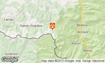 Mapa Arette La Pierre Saint Martin Est�dio 3942