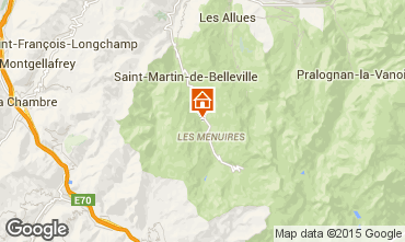 Mapa Les Menuires Chal� 78159