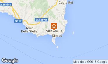 Mapa Villasimius Apartamentos 64239