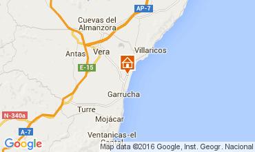 Mapa Vera Apartamentos 50753