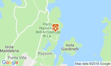 Mapa La Maddalena Vivenda 55314
