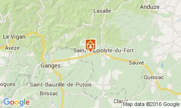 Mapa Anduze Casa de turismo rural/Casa de campo 86253