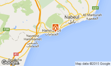 Mapa Hammamet Vivenda 64711