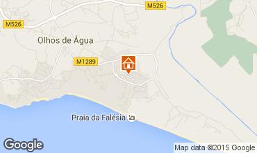 Mapa Albufeira Apartamentos 80766
