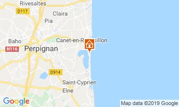 Mapa Canet Apartamentos 118033