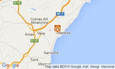Mapa Vera Apartamentos 55866