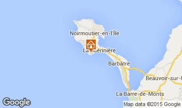 Mapa Noirmoutier en l'Île Casa 61017