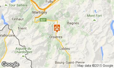 Mapa Verbier Chal� 89126