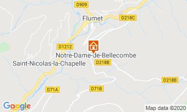 Mapa Les Saisies Estúdio 112090