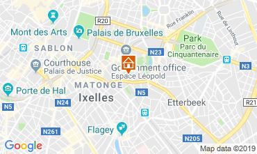 Mapa Bruxelas Apartamentos 118000