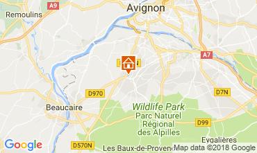 Mapa Saint Rémy de Provence Casa 115597