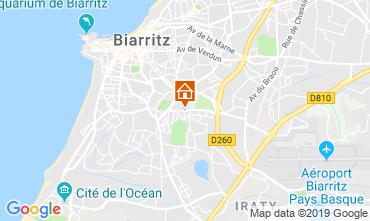 Mapa Biarritz Apartamentos 118611