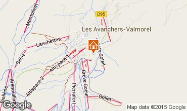 Mapa Valmorel Apartamentos 51430
