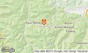 Mapa Gourette Est�dio 80351