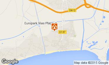 Mapa Vias Praia Mobil Home 10050