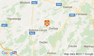 Mapa  Casa de turismo rural/Casa de campo 112798