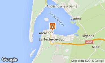 Mapa Arcachon Apartamentos 92358