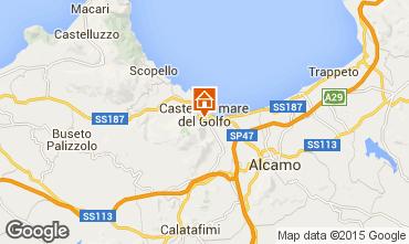 Mapa Castellammare del Golfo Apartamentos 57307