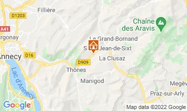 Mapa La Clusaz Apartamentos 72766