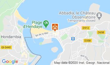 Mapa Hendaye Apartamentos 82386