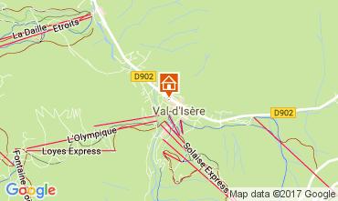 Mapa Val d'Isère Estúdio 38836