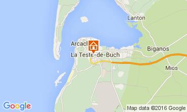 Mapa Arcachon Apartamentos 93098