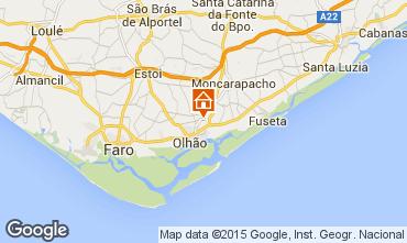 Mapa Olhão Apartamentos 100082