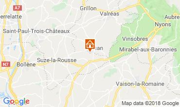 Mapa Grignan Casa 114138