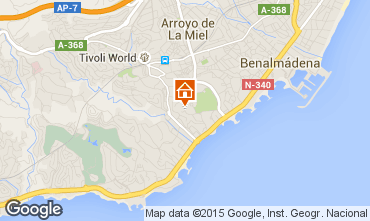 Mapa  Benalm�dena Apartamentos 83740