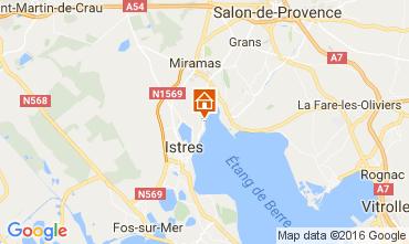 Mapa Istres Casa de turismo rural/Casa de campo 106981