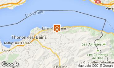 Mapa Evian les Bains Apartamentos 92987