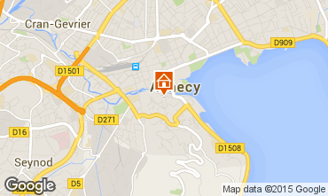 Mapa Annecy Apartamentos 87661