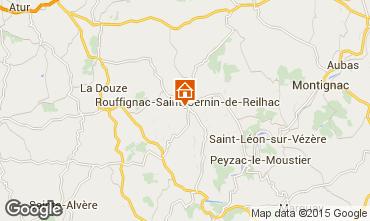 Mapa Les Eyzies de Tayac Casa 12399