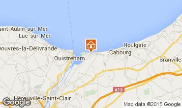 Mapa Cabourg Casa 10769