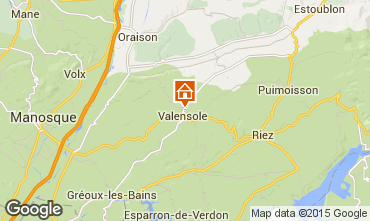 Mapa Valensole Vivenda 101509