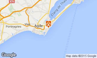 Mapa Cap d'Agde Estúdio 76819