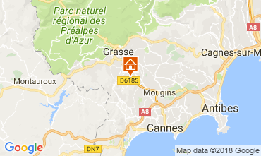 Mapa Cannes Casa 113345